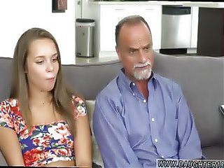 Dad does friends daughter and daddies cum loud Liza and