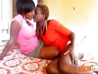 Real African Lesbian Couple EXPOSED