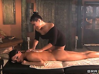 Masseuse Muff Munchers