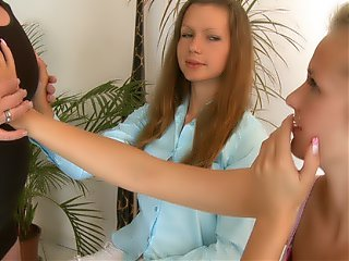 Check hot pussy fuking action with Naomi and her sexy friend.