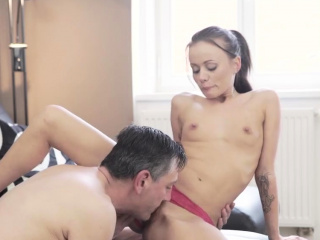 Old guy fucks young and real daddy companion' playmate's dau
